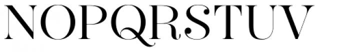Hera Big Light Font UPPERCASE