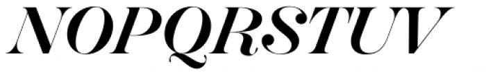 Hera Big Regular Italic Font UPPERCASE