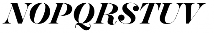 Hera Big SemiBold Italic Font UPPERCASE