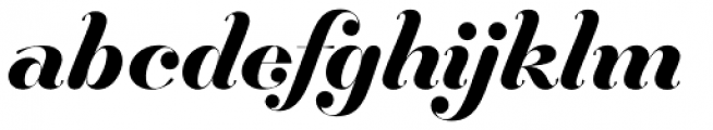 Hera Big SemiBold Italic Font LOWERCASE