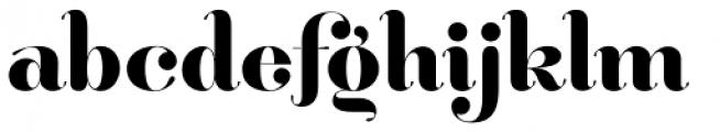 Hera Big SemiBold Font LOWERCASE