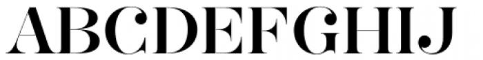 Hera Big Font UPPERCASE
