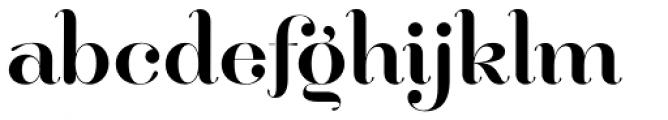 Hera Big Font LOWERCASE