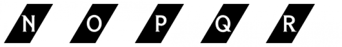 Herald Banner Colour 5 Font LOWERCASE