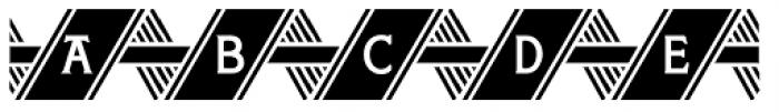 Herald Banner Regular Font LOWERCASE