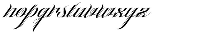 Heraldica Script Font LOWERCASE