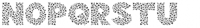 Herbaceous Border Font LOWERCASE