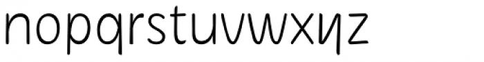 Herbit Light Font LOWERCASE