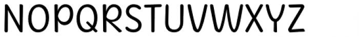Herbit Regular Font UPPERCASE