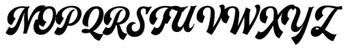 Herchey Script Font UPPERCASE