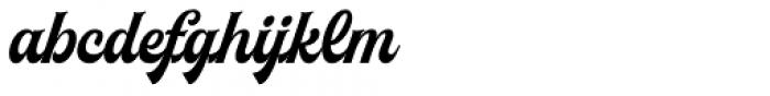Herchey Script Font LOWERCASE