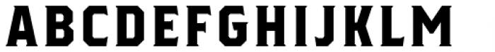 Herchey Serif Font UPPERCASE