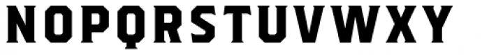 Herchey Serif Font LOWERCASE