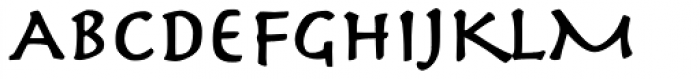 Herculanum Pro Bold Font UPPERCASE