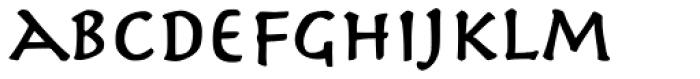 Herculanum Pro Bold Font LOWERCASE