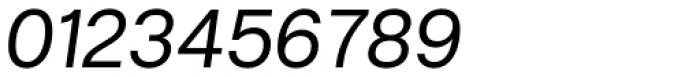 Hergon Grotesk Italic Font OTHER CHARS