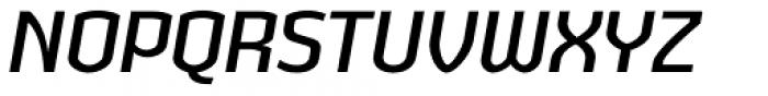 Heritage Set Narrow Italic Font UPPERCASE
