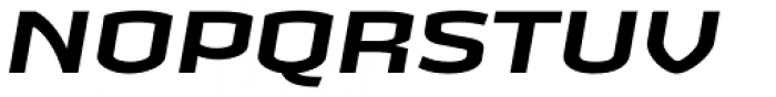 Heritage Set Wide Bold Italic Font UPPERCASE