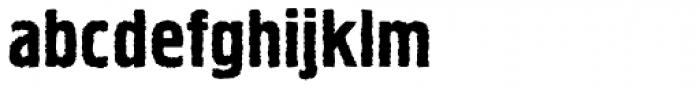Hermes Rough Font LOWERCASE