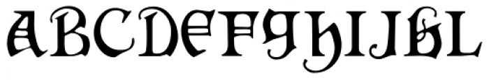 Hermia Font LOWERCASE