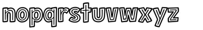 Hero Sandwich BLT Font LOWERCASE