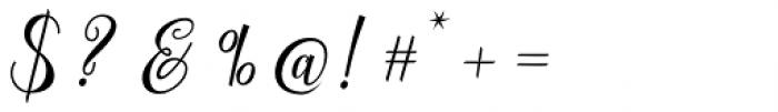 Herochin Regular Font OTHER CHARS