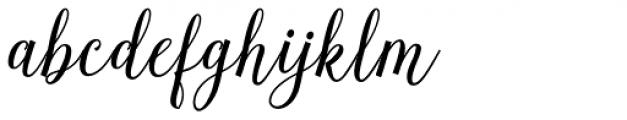 Herochin Regular Font LOWERCASE