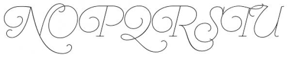 Heroe Monoline Small Std Font UPPERCASE
