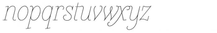 Heroe Monoline Small Std Font LOWERCASE