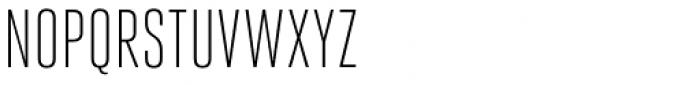 Heroic Condensed Light Font UPPERCASE