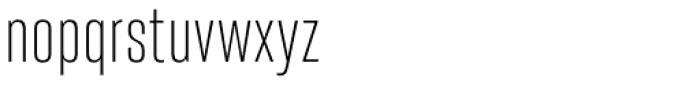 Heroic Condensed Light Font LOWERCASE