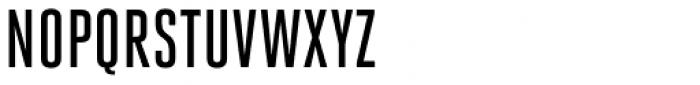Heroic Condensed Medium Font UPPERCASE