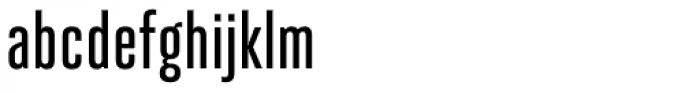 Heroic Condensed Medium Font LOWERCASE