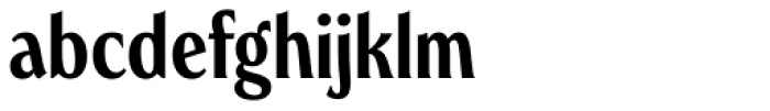 Heroine Pro Cond Medium Font LOWERCASE