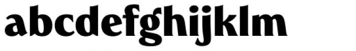 Heroine Pro ExtraBold Font LOWERCASE