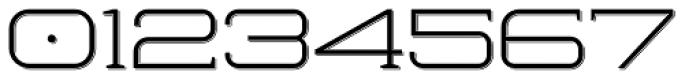 Herradura Light Shadowed Font OTHER CHARS