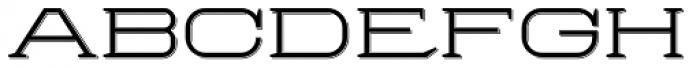 Herradura Light Shadowed Font LOWERCASE