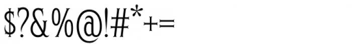 Herschel Skim Font OTHER CHARS