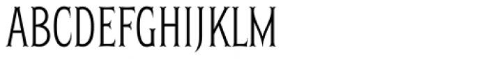 Herschel Skim Font UPPERCASE