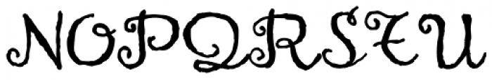 Heruina Font UPPERCASE