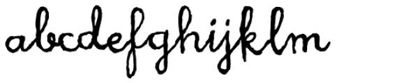 Heruina Font LOWERCASE