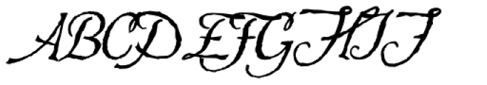Hesperides Font UPPERCASE