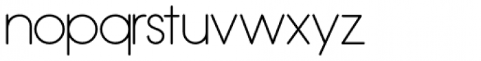 Hess Gothic Round NF Font LOWERCASE