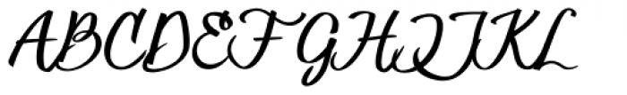 Hesster Mofet CLEAN Font UPPERCASE