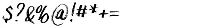 Hesster Moffett Font OTHER CHARS