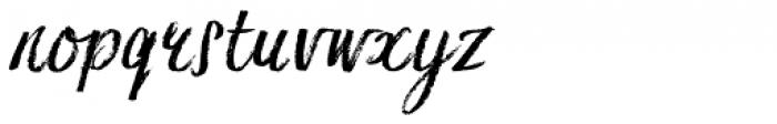 Hesster Moffett Font LOWERCASE