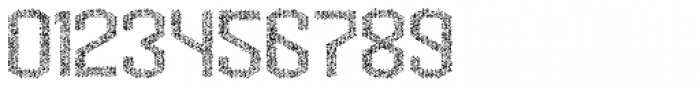 Hexadot Light Silver Crazy Font OTHER CHARS