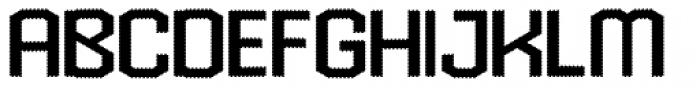 Hexadot Light Font UPPERCASE