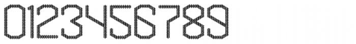Hexadot Thin Round Font OTHER CHARS