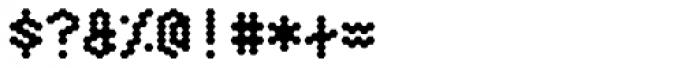 Hexagona Digital Bold Font OTHER CHARS